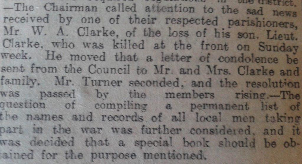clark newspaper clip