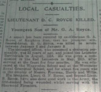 local casualties